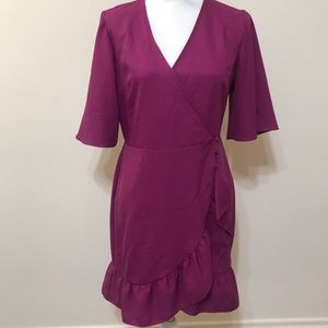 Fuchsia Topshop Dress